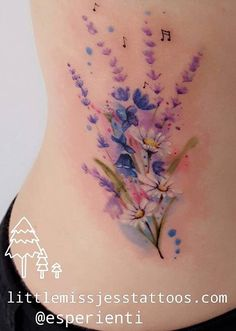 Gemaltes Blumentattoo – Little Miss Jess Tattoos Flowers Tattoo - Flowers Tattoo Finger Tattoos, Side Tattoos, Body Art Tattoos, Tatoos, Diy Tattoo, Tattoo You, Disney Tattoos, Wildflowers Tattoo, Daisies Tattoo