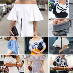 Blog Caca Dorceles. 2015. Inspire-se: Street Style: Off The Shoulder.