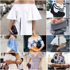 Blog Caca Dorceles. 2015. Inspire-se: Street Style: Off The Shoulder.