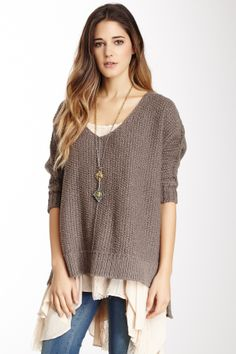 1c330caa6d Free People on HauteLook chunky sweater