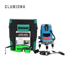 EU plug 5 lines for floor laser marking wire line green beam self leveling laser level