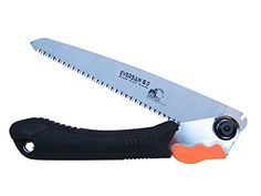 "Folding Saw - Pruning, Landscaping Tool. Camping Wood Stove, Patio Fire Pit, Survival Kit. Sturdy 8"" Blade, Solid Grip. EverSaw 8.0 from Home Planet Gear Home Planet Gear http://www.amazon.com/dp/B00ZSWM1VQ/ref=cm_sw_r_pi_dp_2Ocbwb02ENXTJ"
