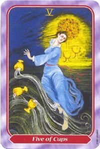 View the Five of Cups in the Spiral deck on Tarot.com