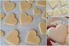You have no idea how happy I am to have finally managed to … - DIY Christmas Cookies Biscuit Recipe, Cookies Et Biscuits, Cupcake Cookies, Sugar Cookies, Sable Cookies, Valentines Sweets, Italian Cookies, Cooking Chef, Cookie Decorating
