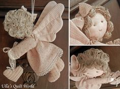 I have made the pattern for this Quilted angel. The pattern is below. Just click the photo and it will become bigger.   Olen tehnyt kaavan ...