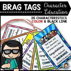All students, from kindergarten to fourth grade, love earning brag tags. If you want to improve your classroom behavior and reward your students with positive reinforcement, then this system is definitely for you.