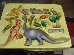 Dinossauros de borracha Wonder World of Nature - R$135
