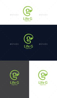 Life G  Logo Design Template Vector #logotype Download it here: http://graphicriver.net/item/life-g-logo/12749003?s_rank=547?ref=nesto
