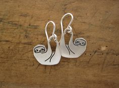 Little Sloth Earrings --- Out of stock until May 26th!