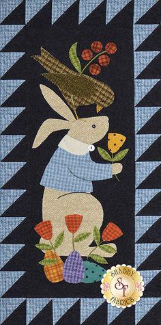 Bertie's Spring - 4 Piece Pattern Set | Shabby Fabrics