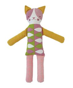 Look what I found on #zulily! Curious Cat Modern Doll by Petit Collage #zulilyfinds