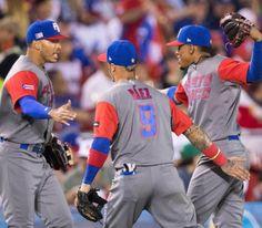 El trío dorado de Puerto Rico en el Clásico Mundial de Béisbol...