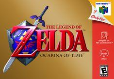 The Legend of Zelda: Ocarina of Time Nintendo The Legend Of Zelda, Ocarina Of Time, Nintendo 64 Games, Nintendo N64, Nintendo Switch, Ever After High Games, Mega Drive Games, Princesa Zelda, All Video Games