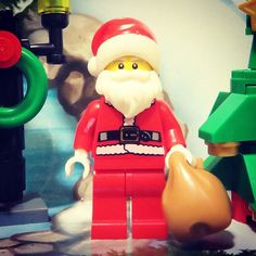 Santa Lego Minifigure (series 8)  Merry Christmas - Happy Christmas countdown: don't forget to listen to www.merrychristmasradio.net @merrychristmasradio  #lego #legostagram #legophotography #legominifigures #legomania #legogram #legominifigure #legography #legophoto #legolife #legofan #afol #lego365 #legominifigs #legobricks #legoman #legolove #legominifig #legolover #minifigures #instalego #minifig #minifigure #minifigs #toyphotography #toystagram #christmas #series8 #santa #santaclaus