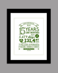 Unique personalized anniversary gift print by FotoCreationsByM