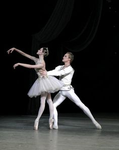 Uliana Lopatkina and Igor Zelensky in Diamonds, Mariinsky Ballet