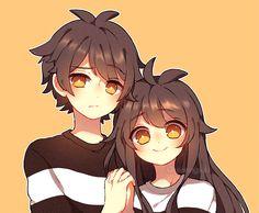 Anime Chibi, Anime W, Anime Guys, Kawaii Anime Girl, Kawaii Art, Anime Art Girl, Cute Art Styles, Cartoon Art Styles, Anime Love Couple