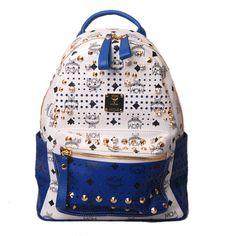MCM Back Legen Backpack Blue