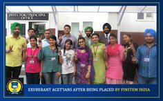 Selected students by Finstem India
