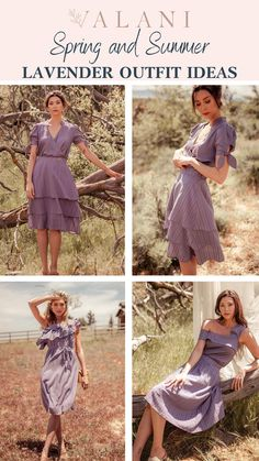 If you're looking for the perfect lavender pastel dress or outfit for spring and summer, check out VALANI's sustainable and eco friendly dresses, skirts and tops. Our fabrics are light, breathable and beautiful--made from hemp, tencel and banana fabric. Best of all, you'll be a planting tree with every purchase! Sustainable Wedding, Sustainable Fashion, Sustainable Style, Summer Wedding Outfits, Spring Outfits, Wedding Dresses, Ethical Clothing, Ethical Fashion, Lavender Outfit
