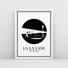 La La Land  La La Land Poster  City of stars   by RamblrPrints