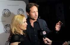Duchovny and Anderson say they want more 'X-Files'