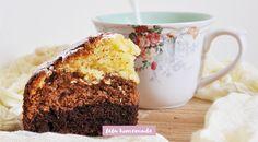 Torta Soffice Ai Tre Cioccolati - Ricetta - Fefa Homemade