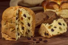 Traditional Italian sweets for Christmas - Panettone