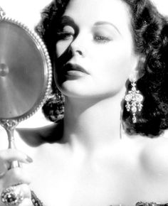 Mirror, mirror, looking glass, glamour 1947 Hedy Lamarr