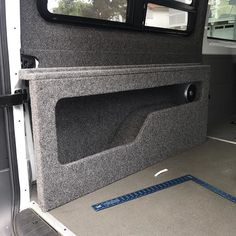 Starting assembly of our custom cubby bed with removable panels today to wrap up this build. We will finish this basic this build soon. All done in 10 days! Hiace Camper, Kombi Camper, Travel Camper, Sprinter Camper, T5 Kombi, Eurovan Camper, Vw T5 Interior, Campervan Interior, Van Storage