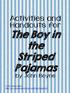 The boy in the striped pajamas character analysis movie questions recently revised to include answer keys my unit for the novel the fandeluxe Choice Image