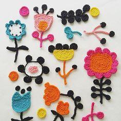 #sketching with #hook #shapesandcolors #crocheting #crochet #crochetfun #nopattern #graphic #freeformcrocheting #flowers #flowercrochet #instacrochet #crocheterofinstagram #virkkaus