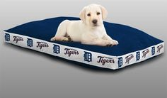 Use the code PINFIVE to receive an additional 5% discount off the price of the Detroit Tigers MLB Sports Logo Pet Bed at SportsFansPlus.com