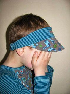 Stirnband mit Schirm für Jungs Freebook