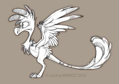Frantz the Archeopteryx by Dragibuz on DeviantArt
