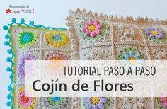 Tutorial Paso a Paso: Cojín de Flores
