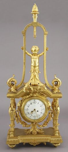Lot: 156: Monumental French bronze figural clock, Lot Number: 0156, Starting Bid: $5,000, Auctioneer: Dallas Auction Gallery, Auction: Antiques and Fine Art, Date: June 19th, 2008 CEST