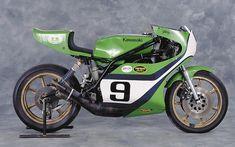 Gary Nixon's 1976 Kawasaki KR750...love this bike!!!!!