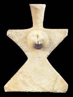 IDOLO FEMENINO,EN MARMOL,HALLADO EN DANGHAN,MAZANDARAN  MUSEO NACIONAL DE IRAN