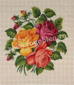 Cod produs 7.21 Buchet cu trandafiri Culori: 21 Dimensiune: 17 x 18 cm