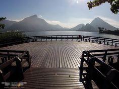 Deck na lagoa Rodrigo de Freitas, RJ.