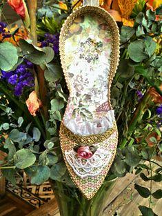 Flor de diy's: Zapato de papel primaveral