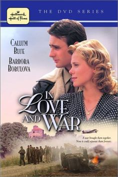 In Love And War (2001) Captured and imprisoned while leading an ill-fated raid behind enemy lines, British commando Eric Newby escapes and is taken in by a pretty Italian and her family, who teach him the language to help him elude his Nazi pursuers. A true story of courage, determination and love, this is based on Newby's autobiography about his mission in WW II Italy.  Callum Blue, Barbora Bobulova, Peter Bowles...TS war