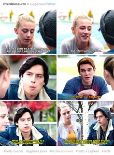 I wonder was this just jughead excuse to get some time alone with Betty ? Cuties ❤