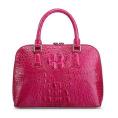 Classic Genuine Crocodile Handbag-Front