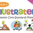 This is the fourth grade English-language arts version of my popular, highly rated Common Core Standards posters. I made this version especially for all those teachers out there who teach ELA for fourth grade. This is a less expensive alternative to buying the Math and ELA together.   If you are looking for common core standard posters with graphics that are cute but not babyish, interesting to kids but still academic, these might be just what you are looking for!