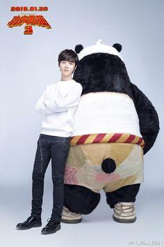 "Luhan Releases MV for ""Deep"" for ""Kung Fu Panda Promo Pop And Lock Dance, Kung Fu Panda 3, Drama Tv Shows, Exo Fan, Dance Moves, Embedded Image Permalink, Suho, Beautiful Boys, Deer"