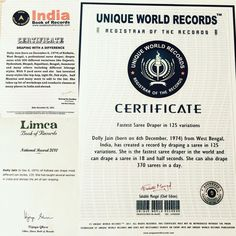 Throwback to those times when i unlocked my achievements ☺️ #indiabookofrecords#limcabookofrecords#uniqueworldrecords#sareedraper#drapedivadolly#achievements#records#lotd#fashion#style