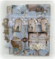 Jenine's Card Ideas: Pocket Letter Winter Memories