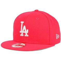 New Era Los Angeles Dodgers C-Dub 9FIFTY Snapback Cap ( 25) ❤ liked on  Polyvore featuring accessories 722ee028dba5